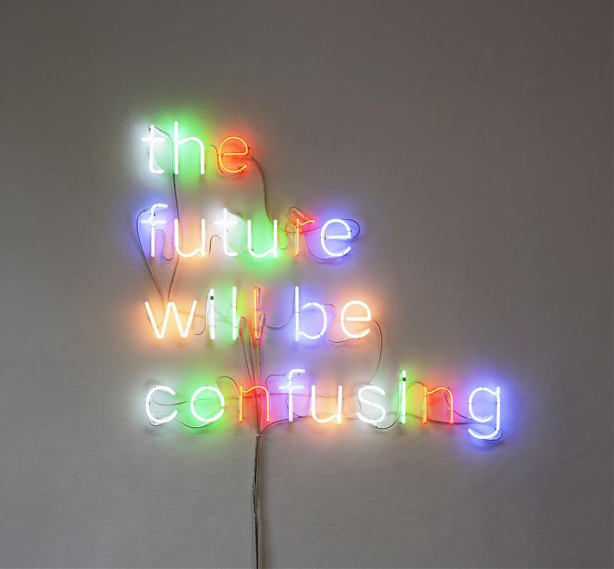 Neon, 2010 / Tim Etchells / photo Tobias Hübel